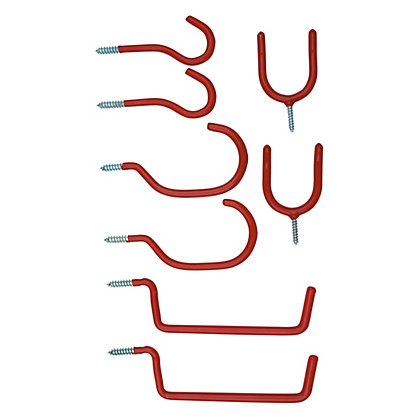 Image for Assorted Hook Set - 8 Piece from StoreName