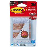 Command Self-adhesive Outdoor Hook - Mini - 6 Pack
