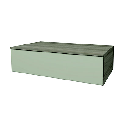 Image for Georgio Modular 900 1 Single Shallow Drawer with Bottle Trap Recesses from StoreName