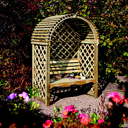 Image for Rowlinson Victoria Wooden Arbour from StoreName