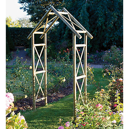 Image for Rowlinson Rustic Garden Arch from StoreName