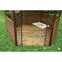 Rowlinson - Willow Gazebo Floor - 0.04 x 2.3m
