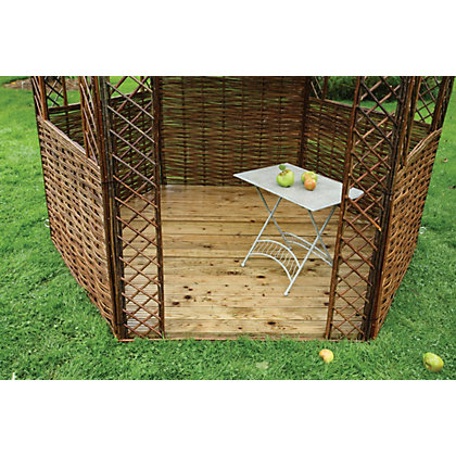Image for Rowlinson - Willow Gazebo Floor - 0.04 x 2.3m from StoreName