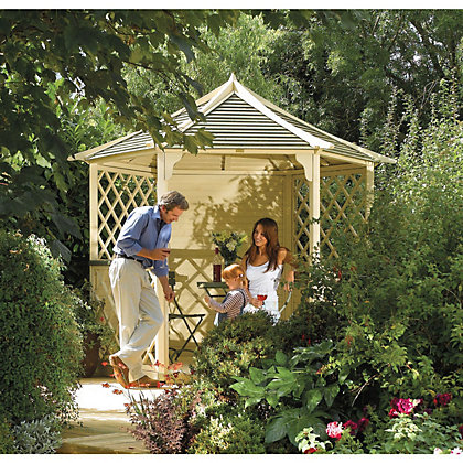 Image for Rowlinson - Gainsborough Gazebo - 2.7 x 3m from StoreName