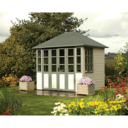 Image for Rowlinson Chatsworth Summerhouse - 7ft 5in x 7ft 2in from StoreName