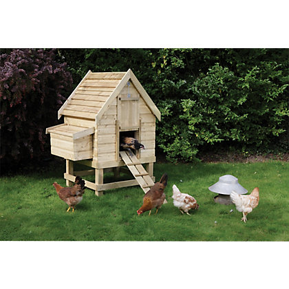 Rowlinson Garden Wooden Mini Store 359304 on en coop door design