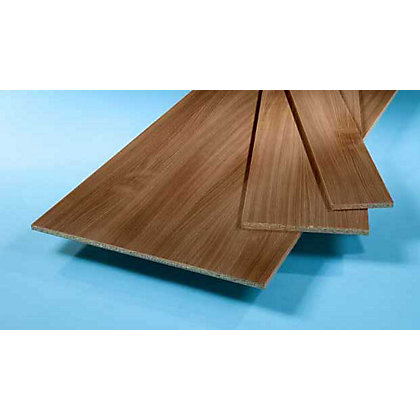 Image for Furniture Board - Walnut - 2440 x 457x 15mm. from StoreName