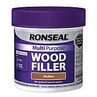 Ronseal Multipurpose Wood Filler Tub - Medium - 465g