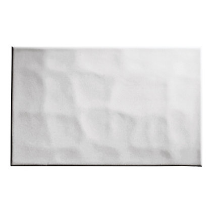 bumpy wall tiles white 250 x 400mm 10 pack. Black Bedroom Furniture Sets. Home Design Ideas