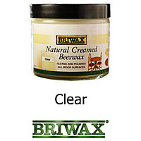 Briwax Beeswax - Clear - 370g