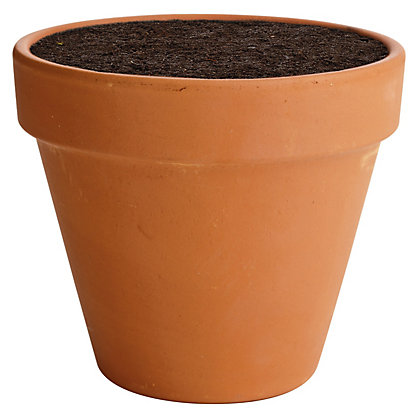 terracotta plant pot 15cm. Black Bedroom Furniture Sets. Home Design Ideas