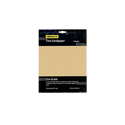 Image for Sandpaper - Fine - 5 Pack from StoreName