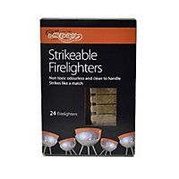 Strikeable Firelighters - 24 Pack