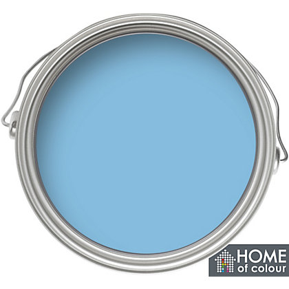 Image for Home of Colour Marina Blue - Silk Emulsion Paint - 5L from StoreName