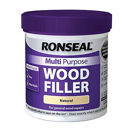 Image for Ronseal Multipurpose Wood Filler Tub - Natural - 930g from StoreName