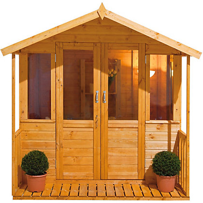 Image for Forest Epsom Summerhouse with Veranda - 7ft 3in x 7ft 5in from StoreName