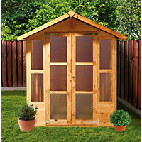 BillyOh Morris Summerhouse with Overhang - 7ft x 5ft