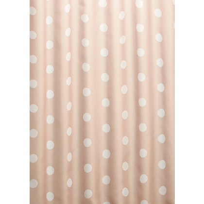 Image for Polka Dot Shower Curtain - Neutral from StoreName