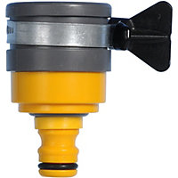 Hozelock Round Garden Mixer Tap Connector