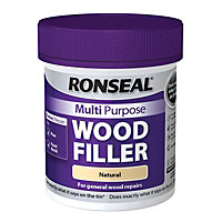 Ronseal Multipurpose Wood Filler Tub - Natural - 250g