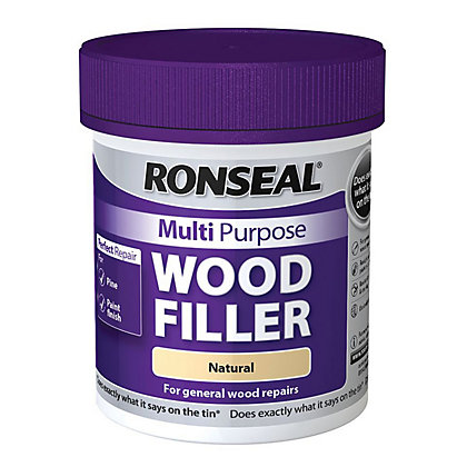 Image for Ronseal Multipurpose Wood Filler Tub - Natural - 250g from StoreName