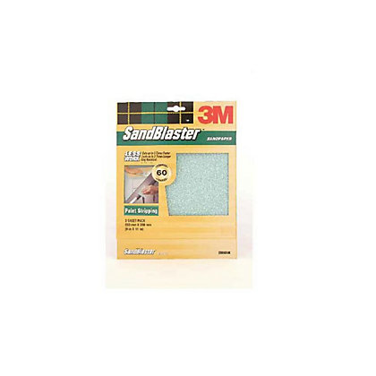 Image for 3M P60 SandBlaster Sandpaper - Medium - 3 Pack from StoreName