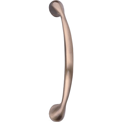 Image for Shaped Door Handle - Antique Brass - 96mm from StoreName