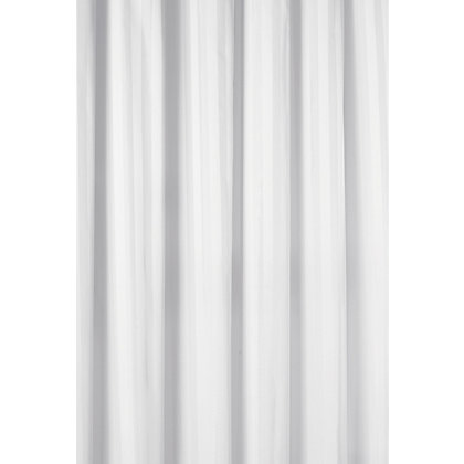 Image for Wovenstripe Shower Curtain - White from StoreName