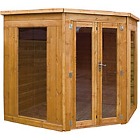 Mercia Corner Premier Summerhouse - 8ft x 8ft