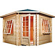 Mercia Corner Log Cabin - 10ft 5in x 10ft 5in