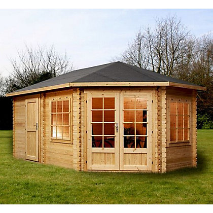 Image for Mercia Corner Lodge Plus (Right) - 16ft 4in x 9ft 10in from StoreName