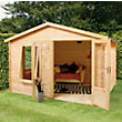 Mercia - Sarah 19mm Log Cabin and Veranda - 3.3x3.0m