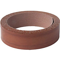 Iron On Edging Strip - Walnut - 19mm