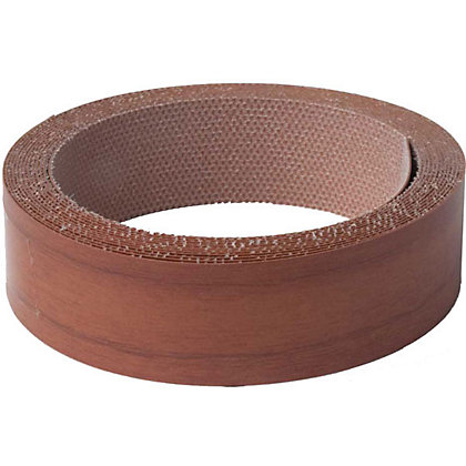 Image for Iron On Edging Strip - Walnut - 19mm from StoreName