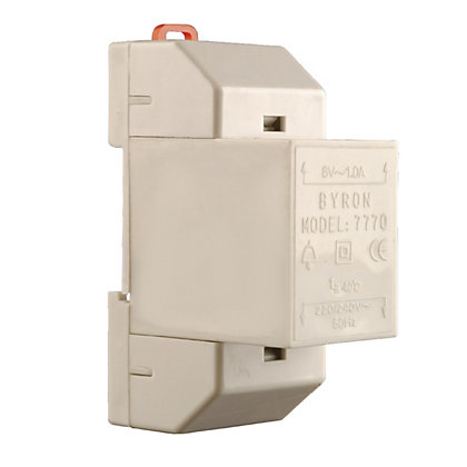 Image for Wired 7770 Transformer 8 Volt 1Amp from StoreName