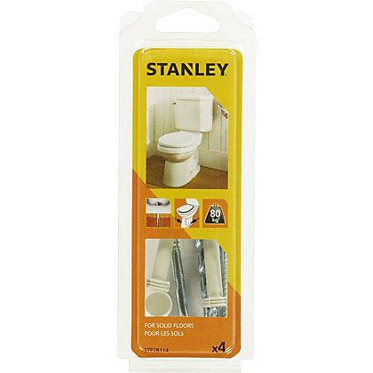 Image for Stanley Project Kit WC Pedestal Solid Wall - STF78114-XJ from StoreName