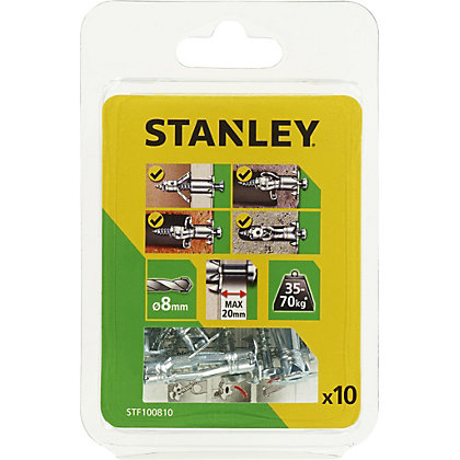 Image for Stanley Multi Metal Anchor (8 x 37mm) X10 - STF100810-XJ from StoreName