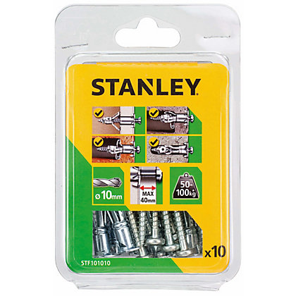 Image for Stanley Multi metal anchor (10mmx60mm) x10 - STF101010-XJ from StoreName