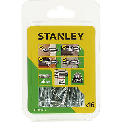 Image for Stanley Multi Metal Anchor (8 x 37mm) X16 - STF100816-XJ from StoreName