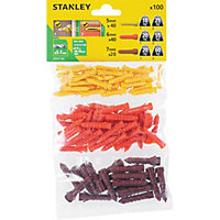 Stanley Multi material plugs 5-7mm x100 - STF27101-XJ