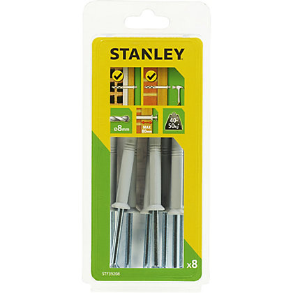 Image for Stanley 8 x Multi Fixing-Hammer-In 8 x 120mm - STF39208-XJ from StoreName