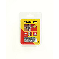 Stanley 5 x Hollow Fixing-Metal 8 x 33mm - STF14205-XJ