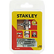 Stanley 10 x Hollow Fixing-Metal 8 x 33mm - STF14106-XJ