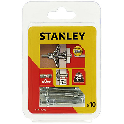 Image for Stanley 10 x Hollow Fixing-Metal 8 x 46mm - STF14206-XJ from StoreName