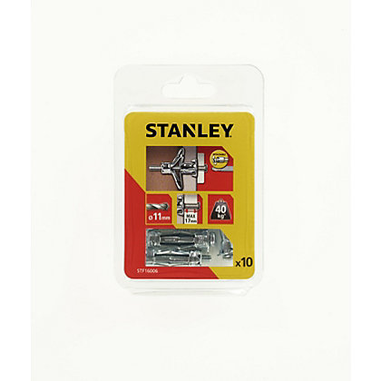 Image for Stanley 10 x Hollow Fixing-Metal 11 x 36mm - STF16006-XJ from StoreName