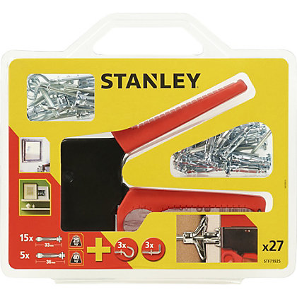 Image for Stanley Metal Anchor Setting Tool Kit X27 Fixings - STF71925-XJ from StoreName