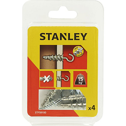 Image for Stanley 4 Metal Sting Plugs M4 X39mm Hooks - STF58100-XJ from StoreName