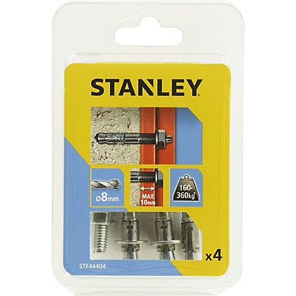 Image for Stanley 4X Solid Through bolts 8 x 65mm - STF44404-XJ from StoreName