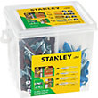 Stanley Multi Mat Plugs 5-8mm & Screws x250 - STF78400-XJ