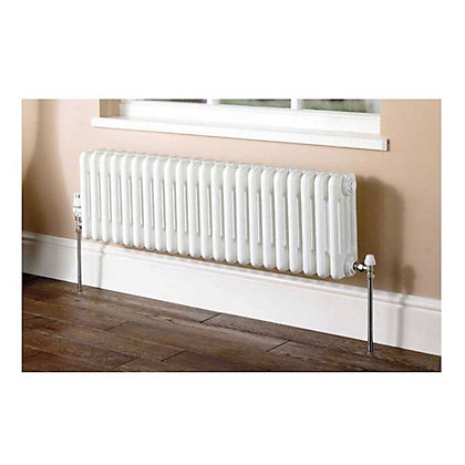 Image for Colonna Horizontal 4 Column Radiator - 302mm x 1014mm - White from StoreName
